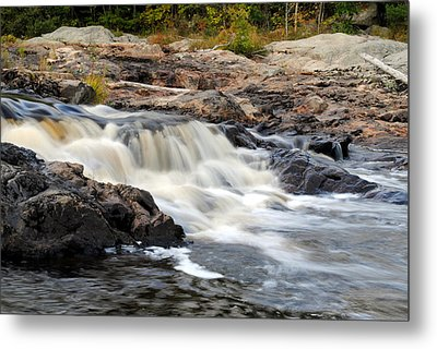 Naraguagus River Metal Print by Steven Scott