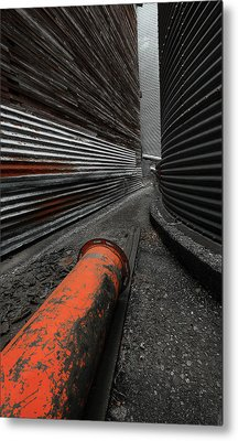 Narrow Passage Metal Print
