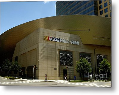 Nascar Hall Of Fame Metal Print