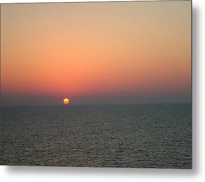 Metal Print featuring the photograph Nassau Sunset by Gary Wonning