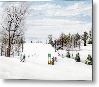 Nastar At Seven Springs Mountain Resort Metal Print