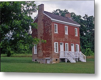 Natchez Trace Gordon House - 2 Metal Print by Randy Muir