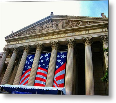 National Archive Building Metal Print by Joyce Kimble Smith