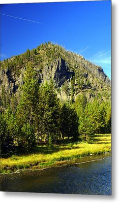 National Park Mountain Metal Print by Marty Koch