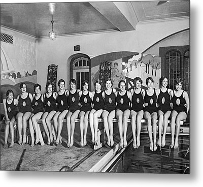 National Swimming Champions Metal Print