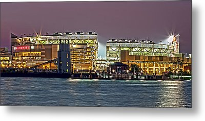Nationals Park - Baseball Stadium - Washington Dc Metal Print by Brendan Reals