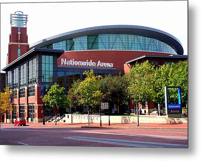 Nationwide Arena Metal Print