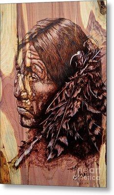 Native Metal Print by Amanda Hukill