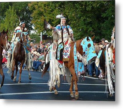 Native American Princess Metal Print