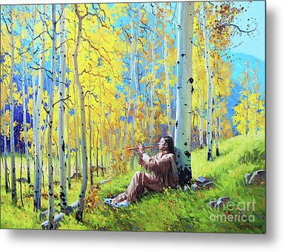 Native Spirit Metal Print by Gary Kim