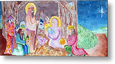 Nativity Metal Print