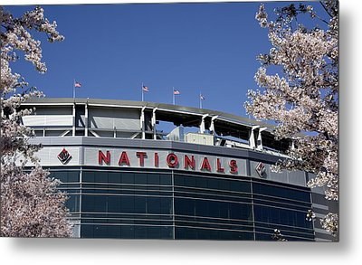 Nats Park - Washington Dc Metal Print by Brendan Reals