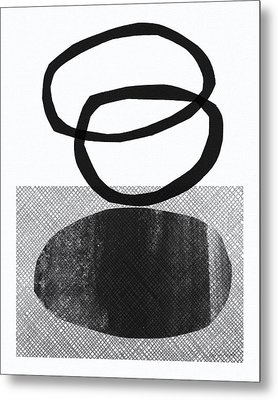 Natural Balance- Abstract Art Metal Print