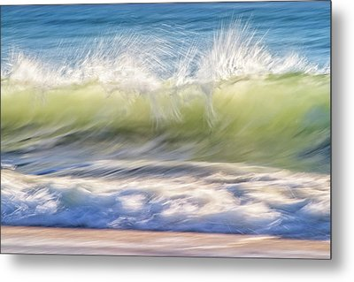 Natural Chaos, Quinns Beach Metal Print by Dave Catley