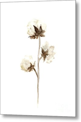 Natural Cotton Wall Hanging Metal Print