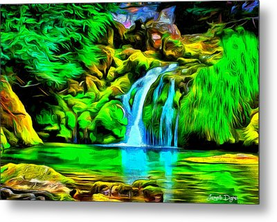 Natural Paradise - Pa Metal Print by Leonardo Digenio