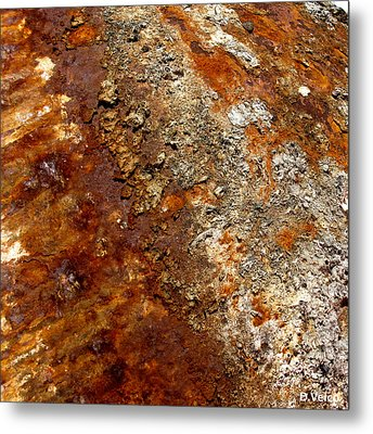 Natural Process Metal Print
