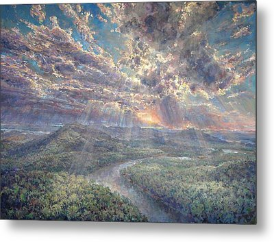 Naturally Dramatic Metal Print by Jimmy Leach