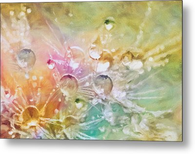 Nature As A Tender Abstraction Metal Print by Georgiana Romanovna