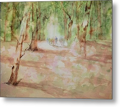 Nature At The Nature Center Metal Print by Debbie Lewis