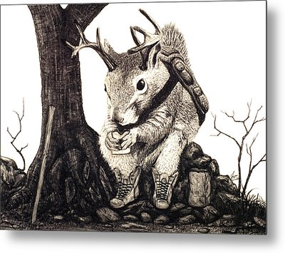 Nature Hike Metal Print by Jaison Cianelli