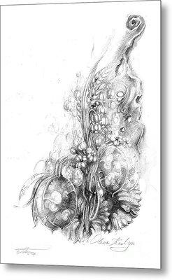 Nature Inspiration Metal Print by Olena Kulyk