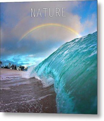 Nature. Metal Print