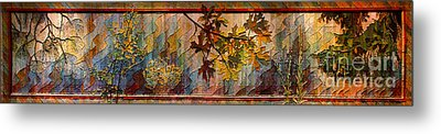 Nature Tapestry 1997 Metal Print by Padre Art