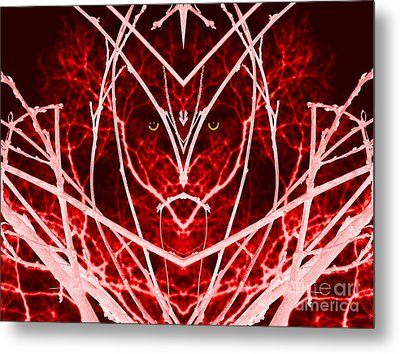 Nature Warrior Metal Print
