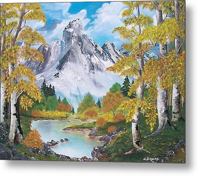 Metal Print featuring the painting Nature's Beauty by Sharon Duguay