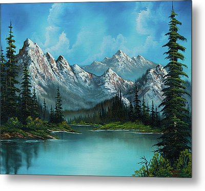 Nature's Grandeur Metal Print by C Steele