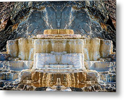 Metal Print featuring the photograph The Throne by Robert Pearson