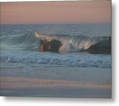 Metal Print featuring the photograph Natures Wave by  Newwwman