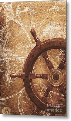 Nautical Exploration  Metal Print