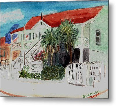 Nautical Museum Georgetown Metal Print by Donna Walsh