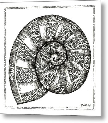 Nautilus Metal Print by Stephanie Troxell