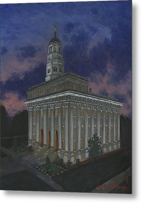 Nauvoo Sunset Metal Print by Jeff Brimley