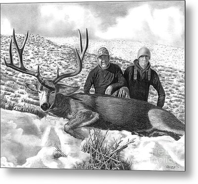 Navada Hunt 2015 Metal Print by Peter Piatt