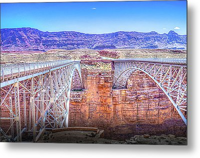 Navajo Bridge Metal Print