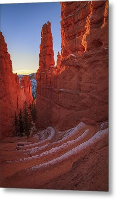 Navajo Loop Metal Print