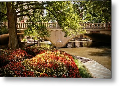 Navarro Street Bridge Metal Print by Steven Sparks