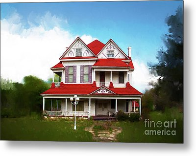 Metal Print featuring the photograph Navasota 3 by Elena Nosyreva
