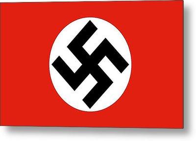 Nazi Flag 1920-1945 Metal Print