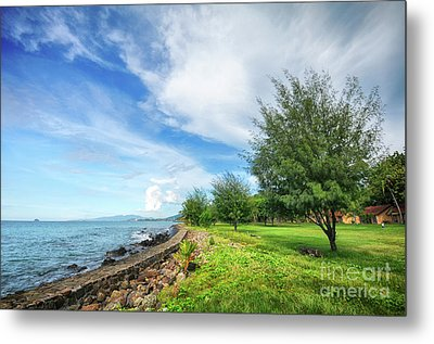 Metal Print featuring the photograph Near The Shore by Charuhas Images