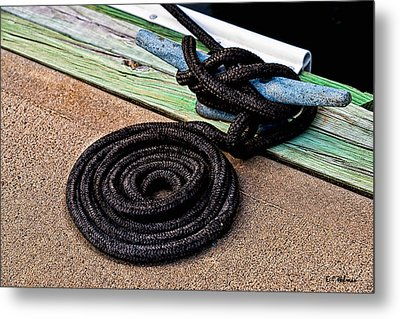 Neatly Tied Metal Print by Christopher Holmes