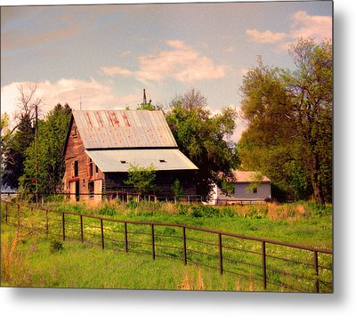 Metal Print featuring the photograph Nebraska In The Summer Afternoon by Tyler Robbins