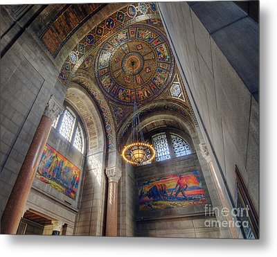 Nebraska State Capitol Metal Print by Art Whitton