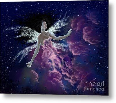 Nebula Metal Print by Amyla Silverflame