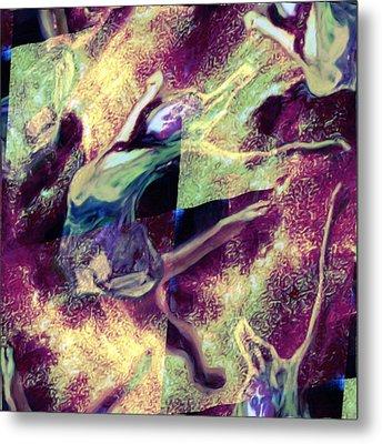 Nebula Dance Metal Print by Shelley Bain