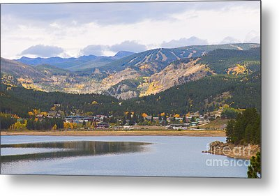 Nederland Colorado Scenic Autumn View Boulder County Metal Print by James BO  Insogna